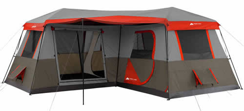 Ozark Trail 12 Person Tent with Air Conditioner Port