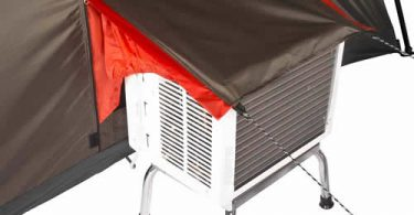 Camping Tent with AC Port for Tent Air Conditioner