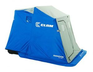 Clam Nanook 2-Person Ice Fishing Sled Shelter