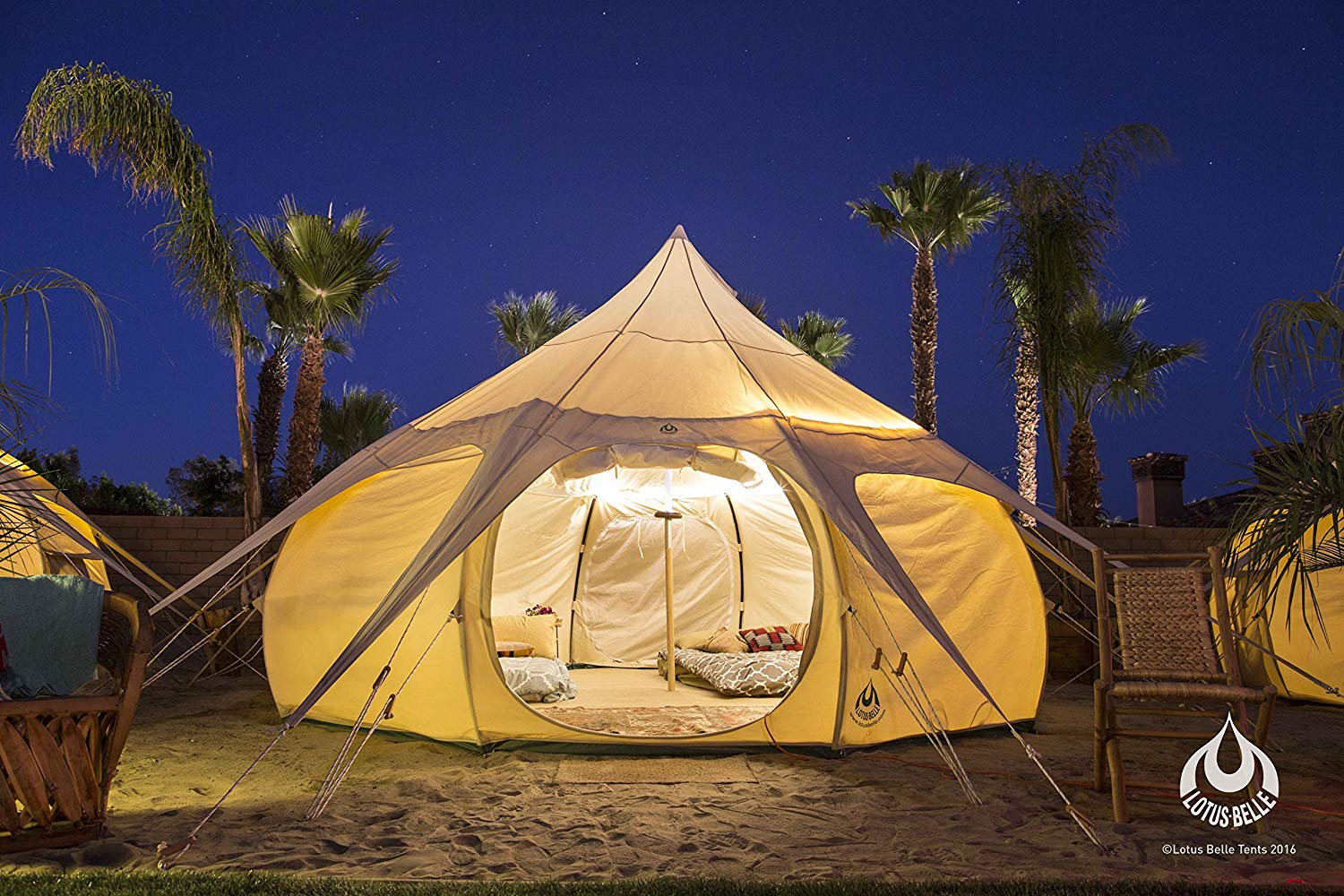 Lotus Canvas Bell Tent