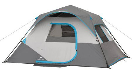 Ozark Trail 6 Person Intant Cabin Tent with LED light