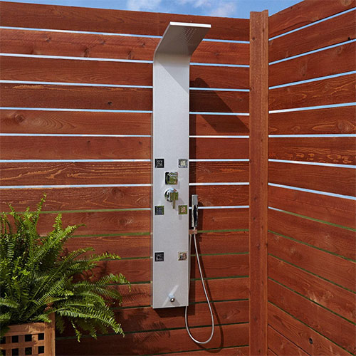 Signature Hardware Harlingen Outdoor Shower Panel