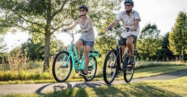 Beach Cruiser Electric Bike